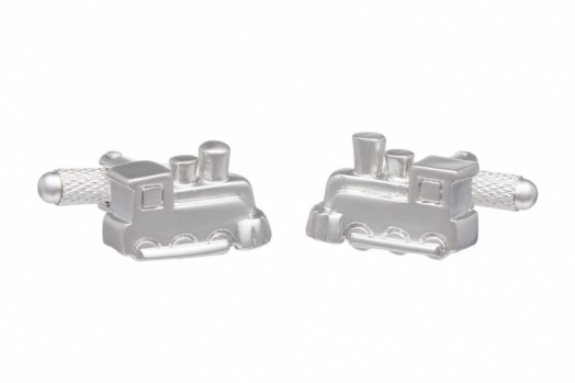 Steam Train Engine Cufflinks